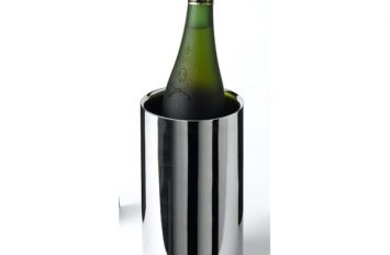Polished St/St Wine Cooler 12 ø x 20cm H