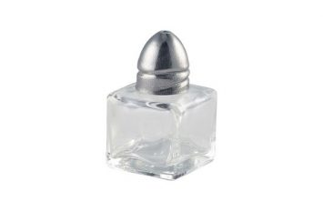 Individual Glass Salt Pot 20 x 20 x 55mm