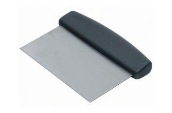 Dough Scraper Black Handle 150 x 75mm