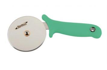 Genware Pizza Cutter Green Handle
