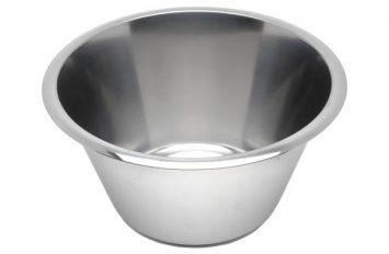 S/St Swedish Bowl 1 Litre