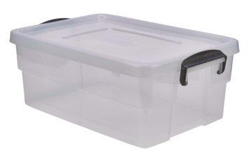 Storage Box 38L w/ Clip Handles