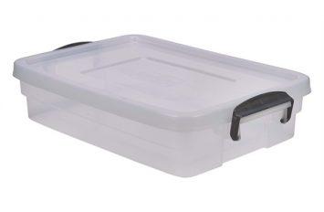 Storage Box 20L w/ Clip Handles