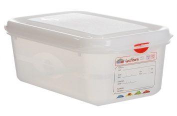 GN Storage Box 1/4 100mm deep 2.8L