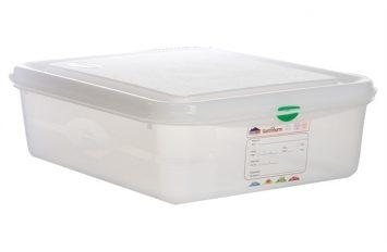 GN Storage Box 1/2 100mm deep 6.5L