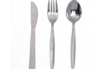 Standard Plain Small Spoon (Dozen) 155mm Long