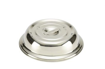 """Round S/St. Plate Cover For 10"""" Plates"""