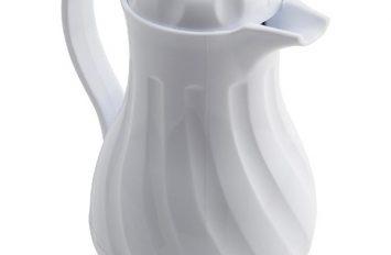 Insulated Beverage Server White 20oz 0.6Ltr