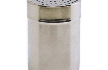 S/St.Shaker with large 4mm hole.(Plastic Cap)