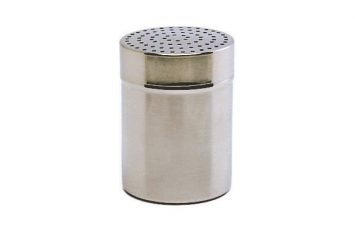 S/St.Shaker small 2.5mm hole.(Plastic Cap)