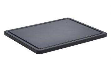 Non Slip Cutting Board Black 32.5x26.5x1.4cm