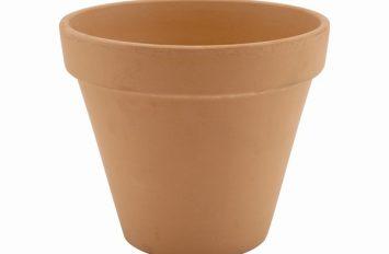Genware Terracotta Pot Rustic 11.2 x 9.7cm