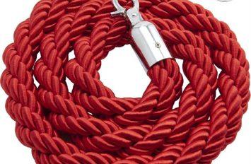 Genware Barrier Rope Red - use w/ code BP-RPE