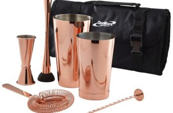 Copper Cocktail Bar Kit 7pcs