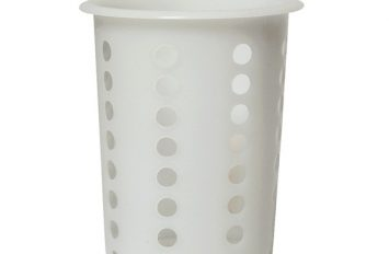 Cutlery Cylinder White 100 mm Dia.135mm High