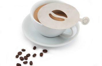 Genware St/st. Coffee Stencil Bean Design