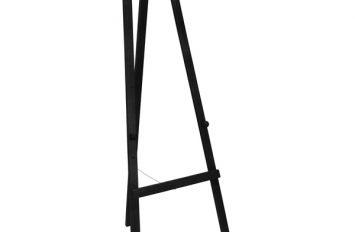 Easel Black H-165cm