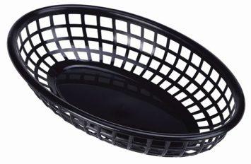 Fast Food Basket Black 23.5x15.4cm