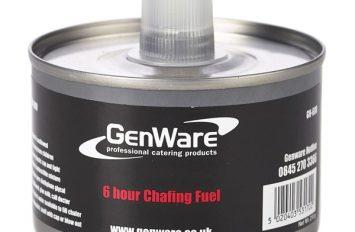 Gen-Heat DEG Adj Heat Chafing Fuel 6 Hour Can