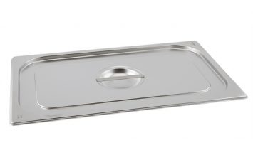 St/St Gastronorm Pan Lid 1/3