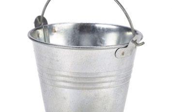 Galvanised Steel Serving Bucket 7cm Ø 4oz