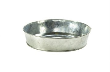 Galvanised Steel Sharing Platter 22cm Ø