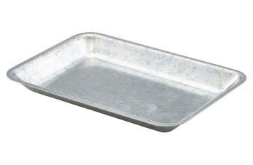 Galvanised Steel Tray 20x14x2cm