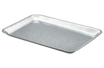 Galvanised Steel Tray 31.5x21.5x2cm