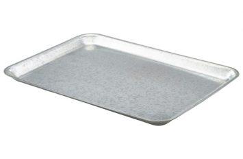 Galvanised Steel Tray 37x26.5x2cm