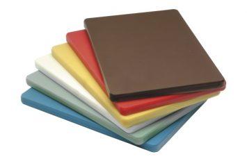 """High Density Cutting Board 18 x 12 x 0.5"""" Blue"""