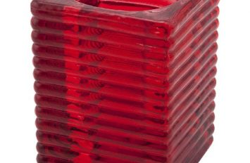 """""""Highlight"""" Candle Holder Red (6pcs)"""
