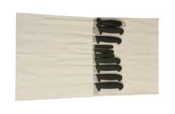 Canvas Knife Wallet - 14 Compartment