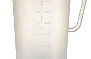 Polypropylene Measuring Jug 3L