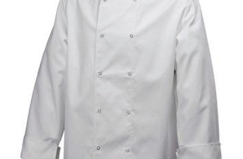 Basic Stud Jacket (Long Sleeve)White M Size