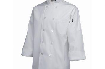 Standard Jacket (Long Sleeve)White XL Size
