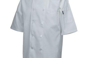 Standard Jacket (Short Sleeve)White XL Size