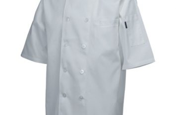 Standard Jacket (Short Sleeve)White XXL Size