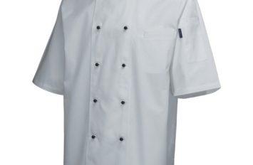 Superior  Jacket (Short Sleeve)White M Size