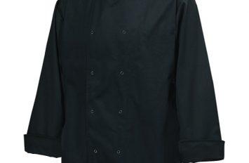 Basic Stud Jacket (Long Sleeve)Black XL Size
