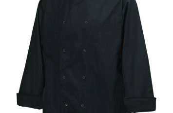 Basic Stud Jacket (Long Sleeve)Black XXL Size