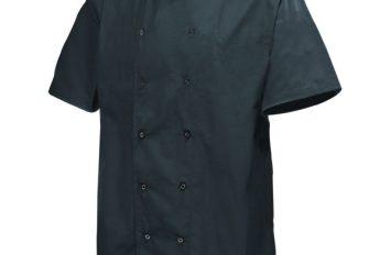 Basic Stud Jacket (Short Sleeve)Black XL Size