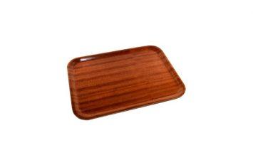 Non-slip Darkwood Tray 460 x 340mm