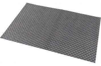 Placemat Silver 45x30cm PVC