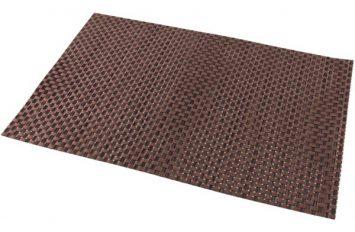 Placemat Copper 45x30cm PVC