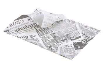 Greaseproof Paper 25 x 35cm (1000 Shts) Printed