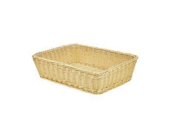 Polywicker Display Basket 36.5x29x9cm