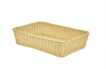Polywicker Display Basket 46x31x10cm