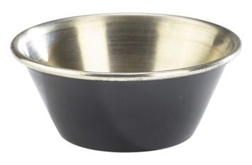 1.5oz Stainless Steel Ramekin Black