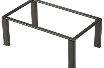 Black GN Buffet Riser GN 1/4 10cm (H)