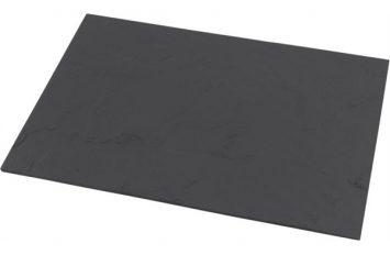 Genware Slate Platter 20 x 11 x 0.5cm